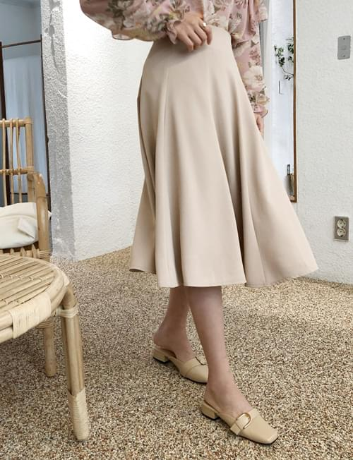 Beautiful silhouette skirt
