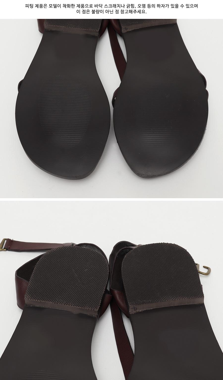 Past double strap sandal_C