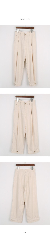 Uncommon button jogger pants