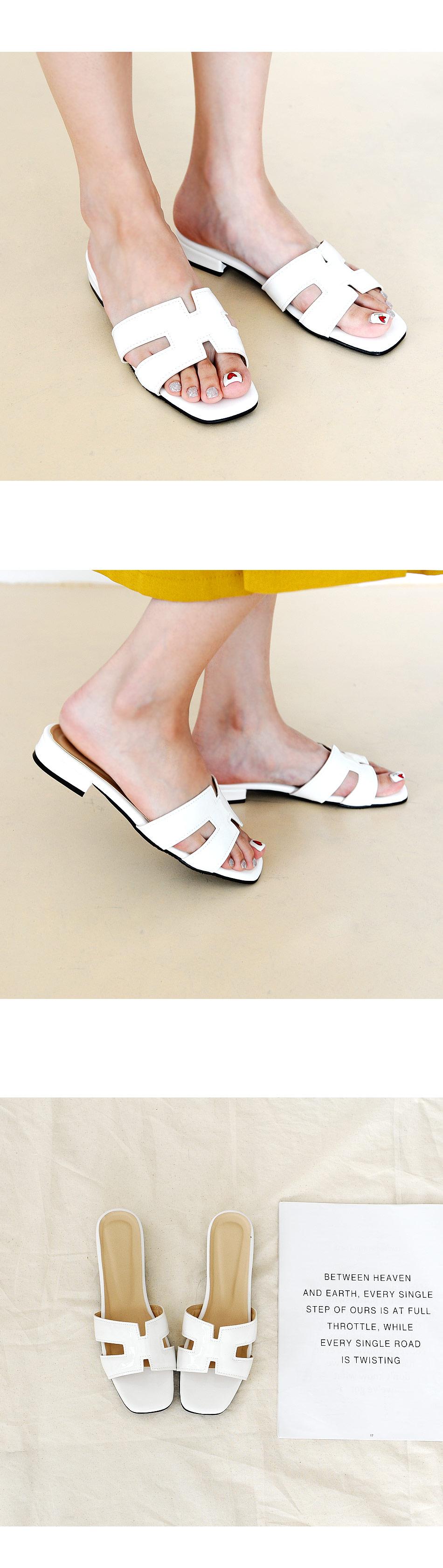 Efron Slippers 2cm