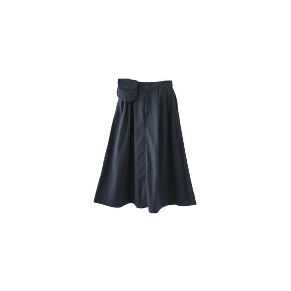 pocket set A-line skirt