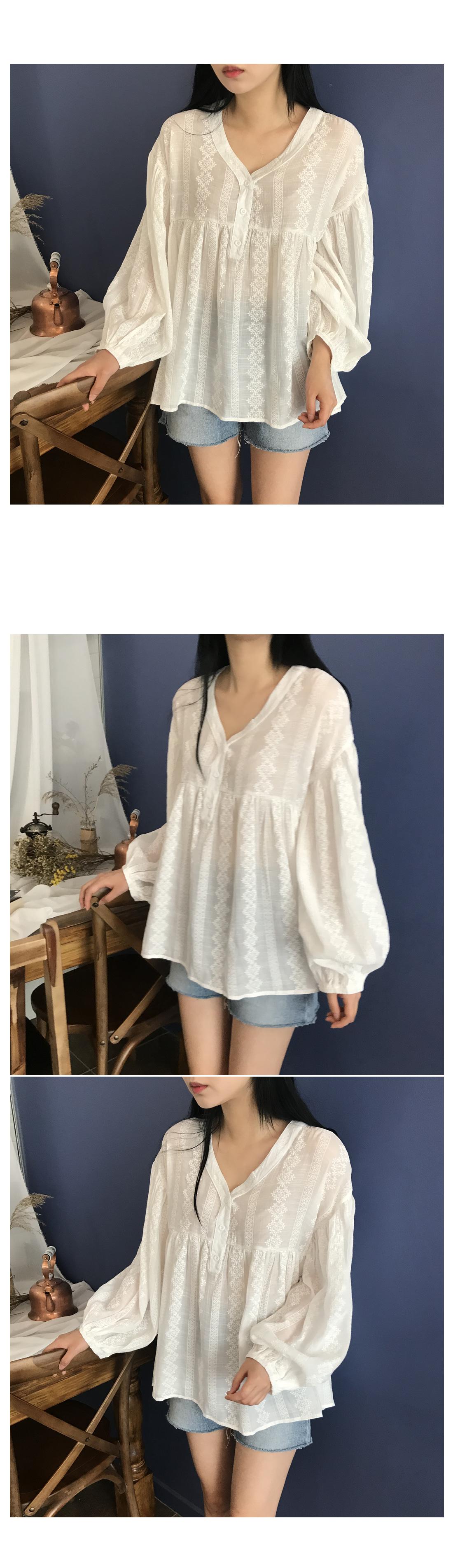 Adel rouze blouse
