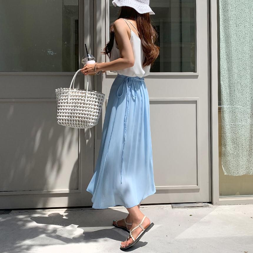 Shining Dress Long Skirt