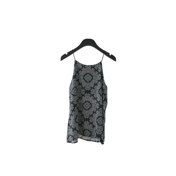 ethnic pattern sleeveless