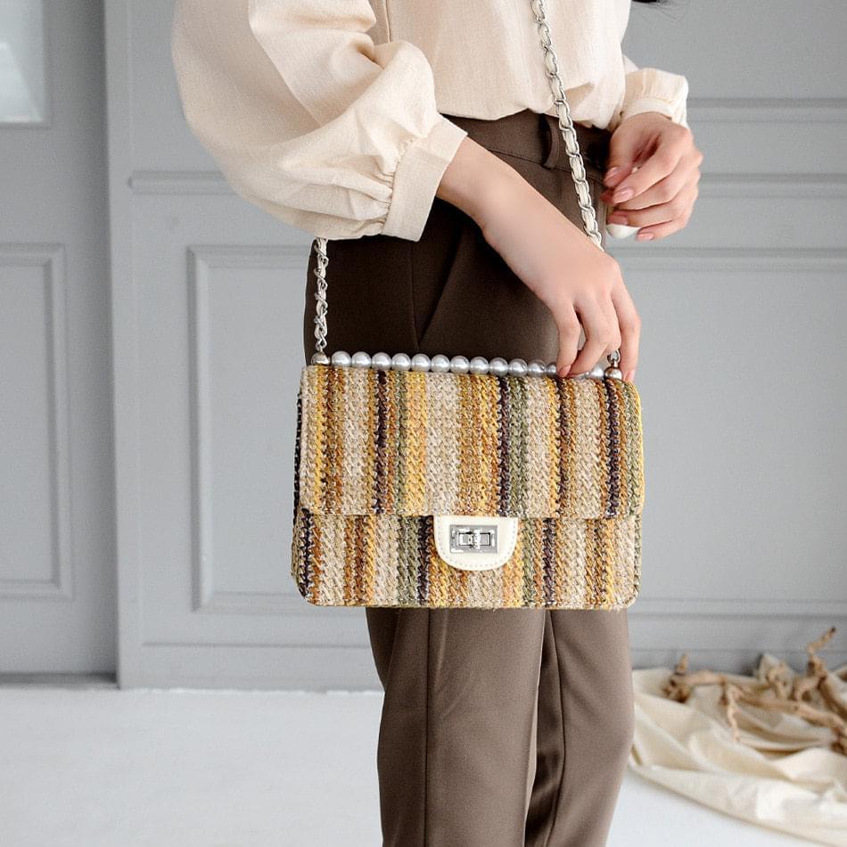 Stuff Tweed Cross Bag