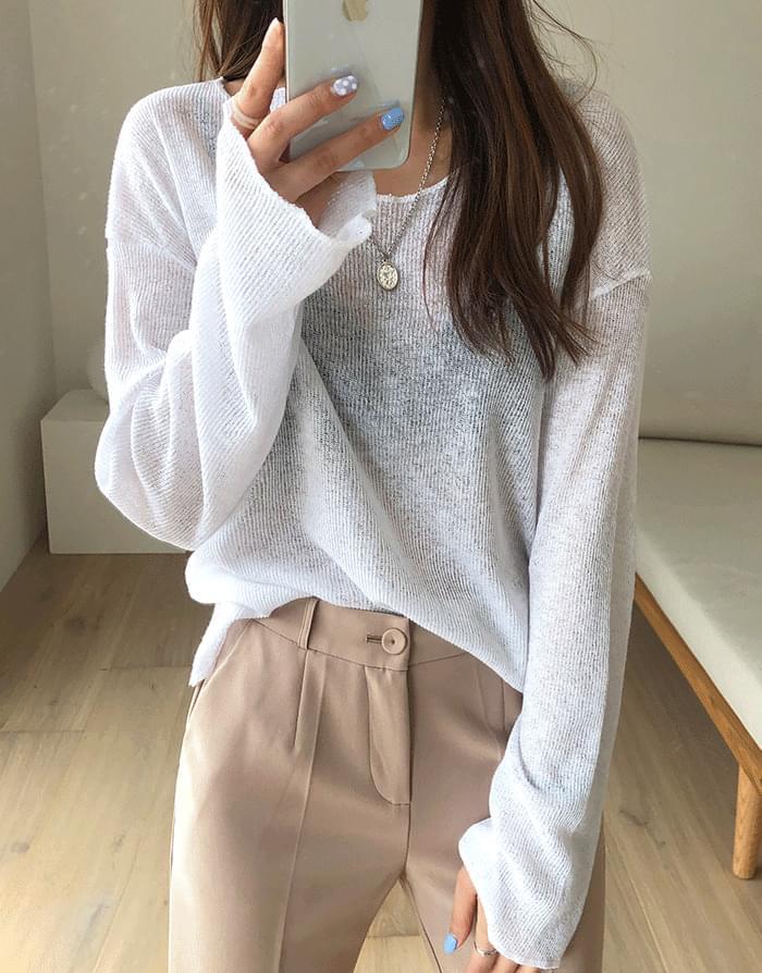 Round knitwear