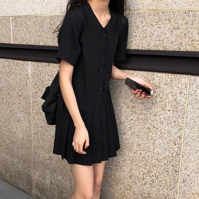 Chiffon Army Mini Dress