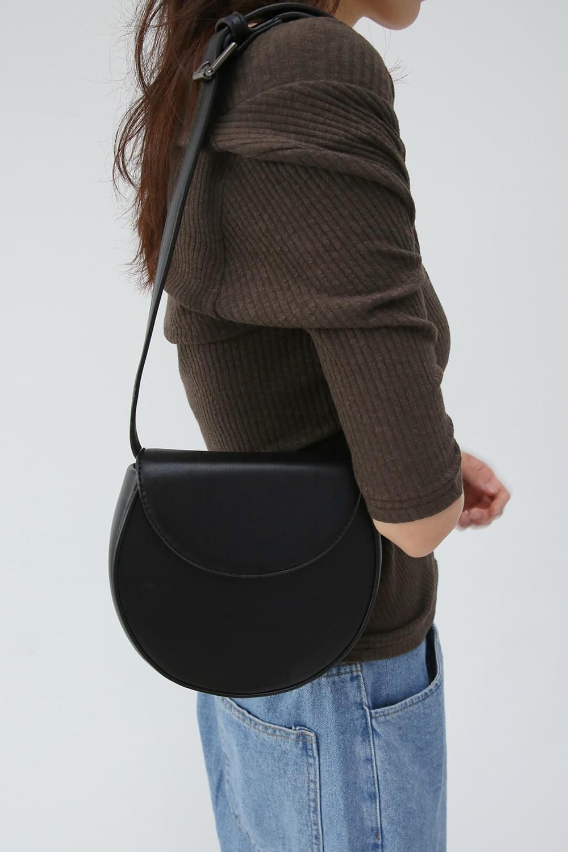 minimal round clean bag (3colors)