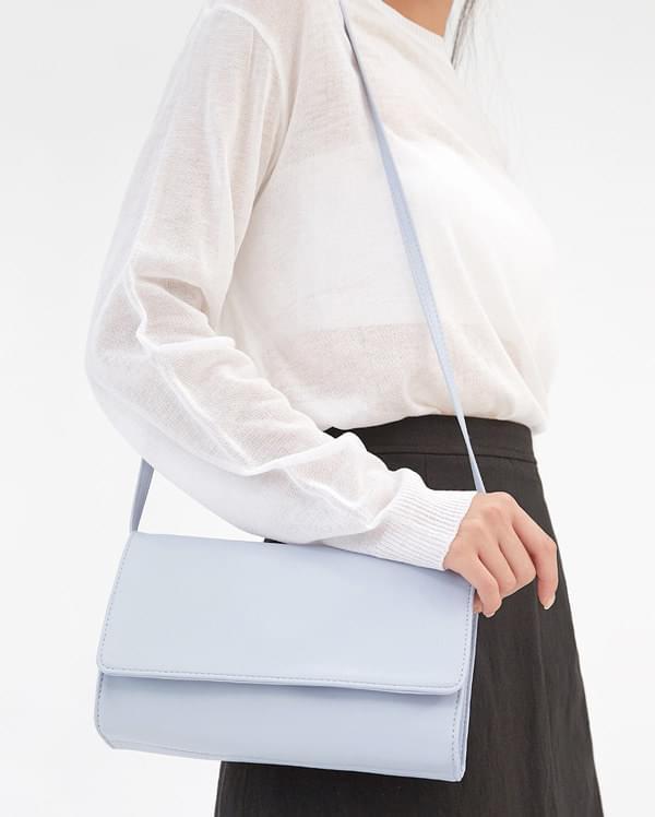 open rectangle shoulder bag
