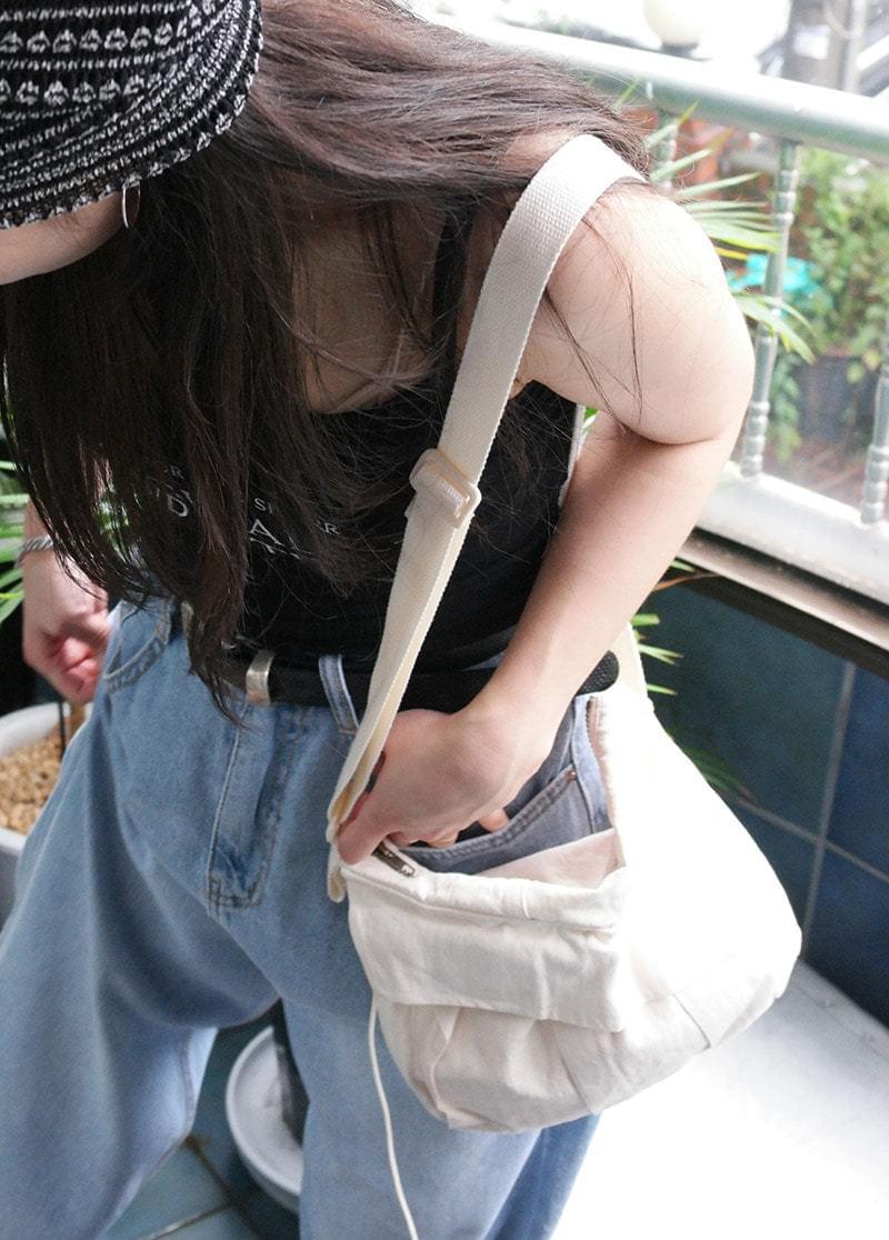 Cotton String Cross Bag