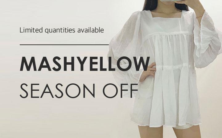 마쉬옐로우 시즌오프 30% 할인