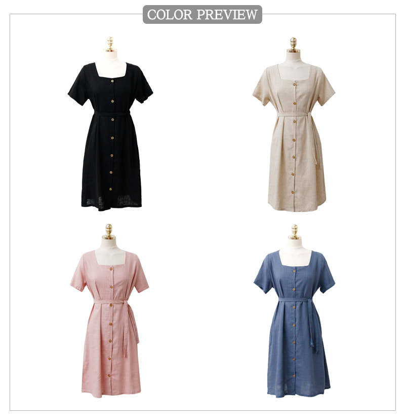 Check-in ribbon dress