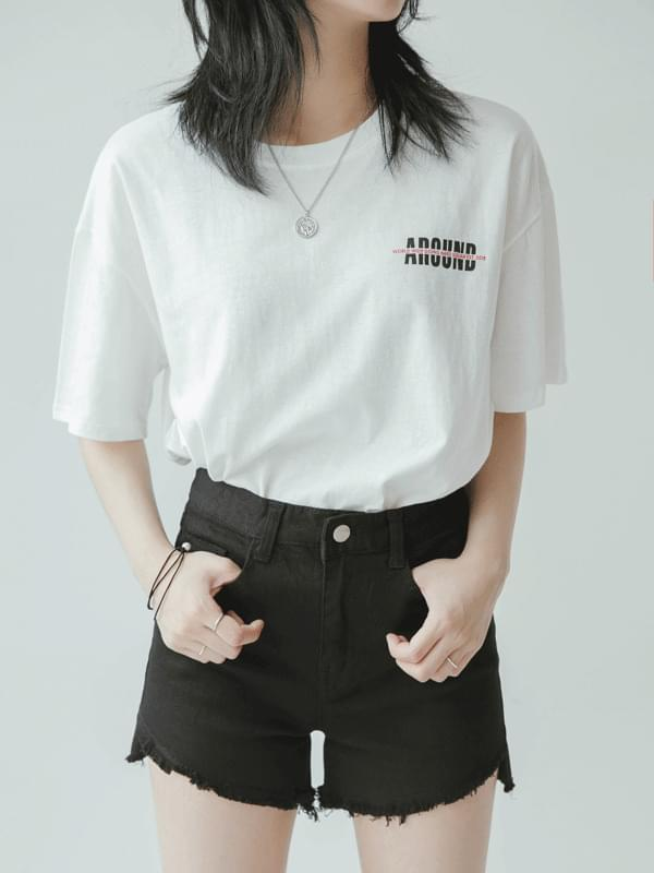 CORNER 박시 티셔츠 (t0158)