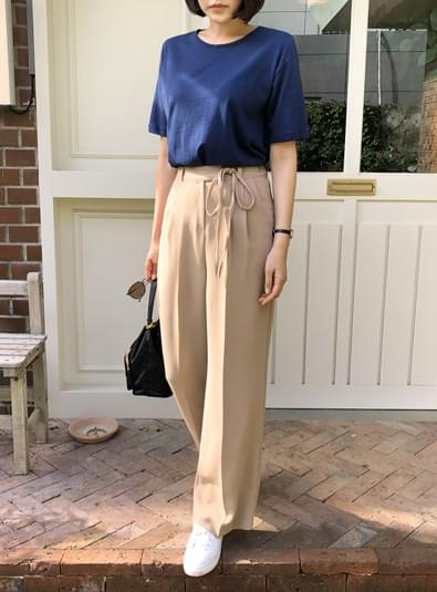 String knot pants