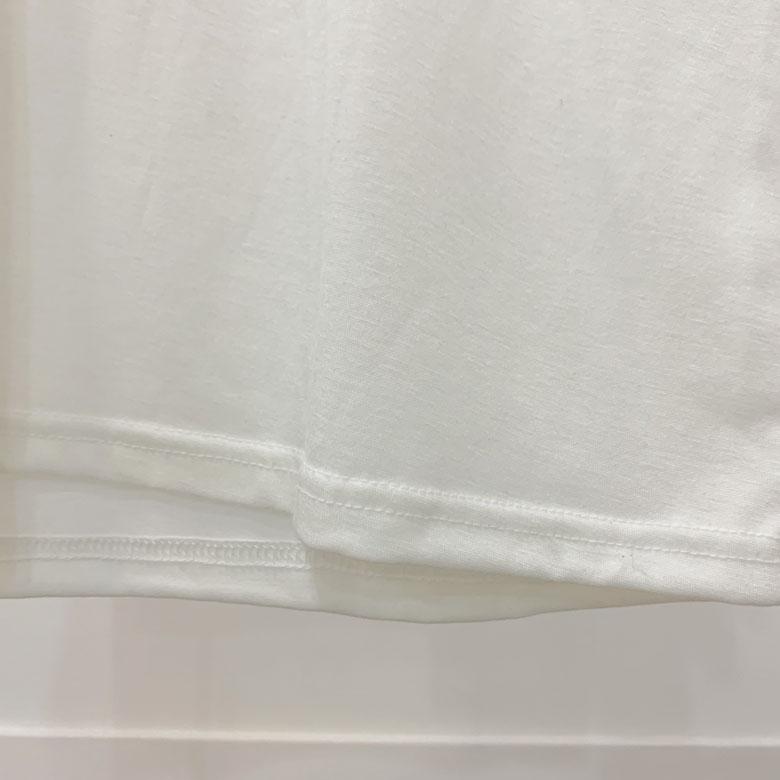 Peanut printing round short sleeve tee