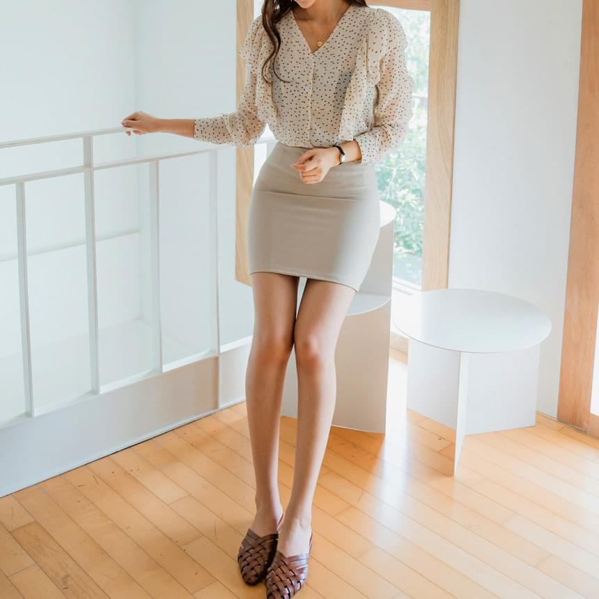 French mini skirt