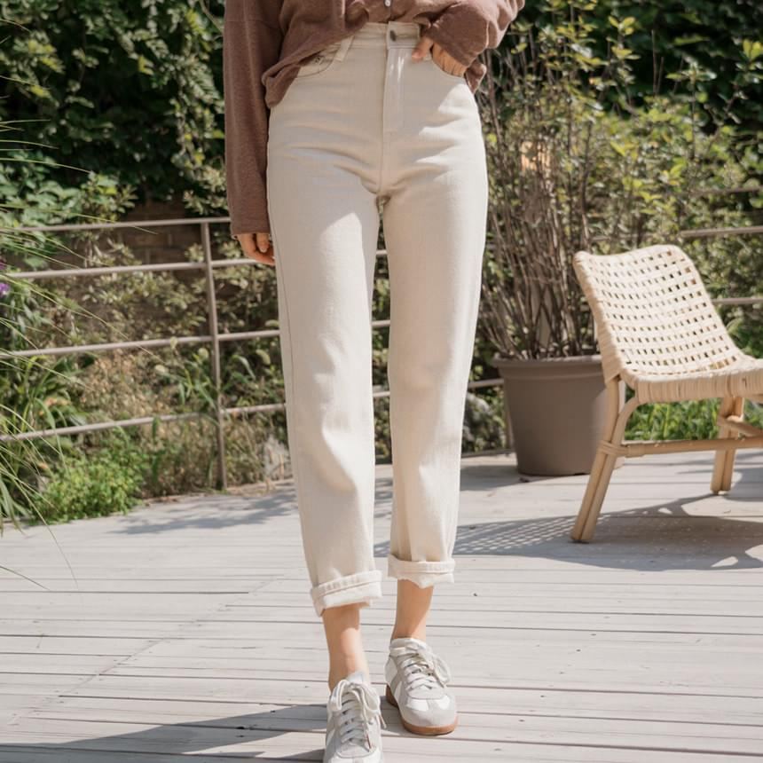 Cream Standard Pants 長褲
