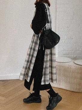 Layered Rachel Check Dress