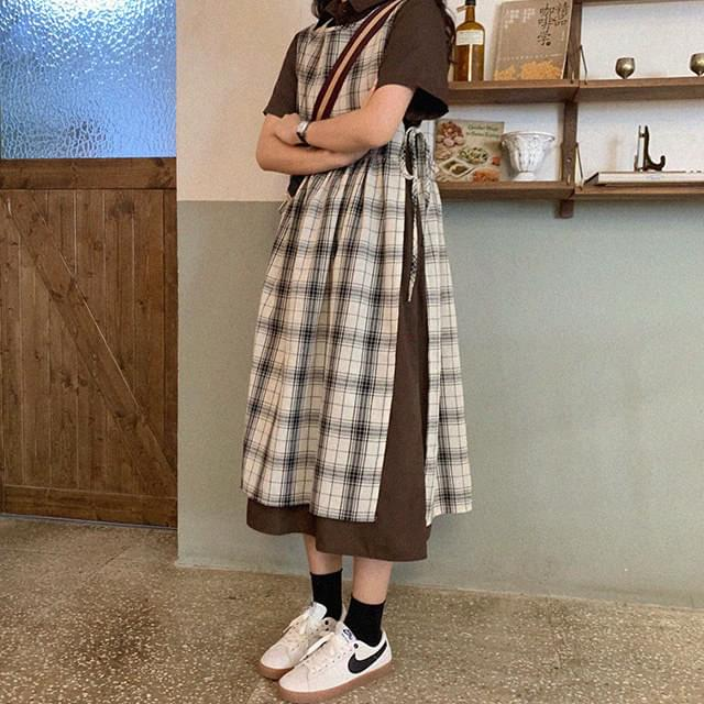 Layered Rachel Check Dress