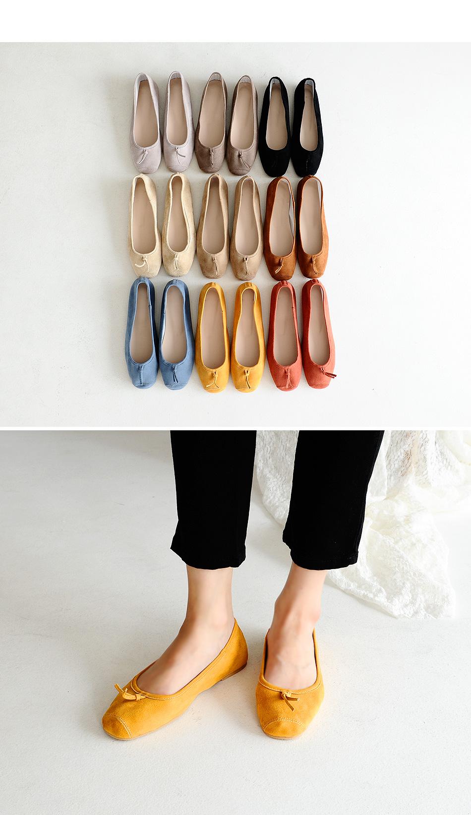 TIPOEL Flat Shoes 1cm