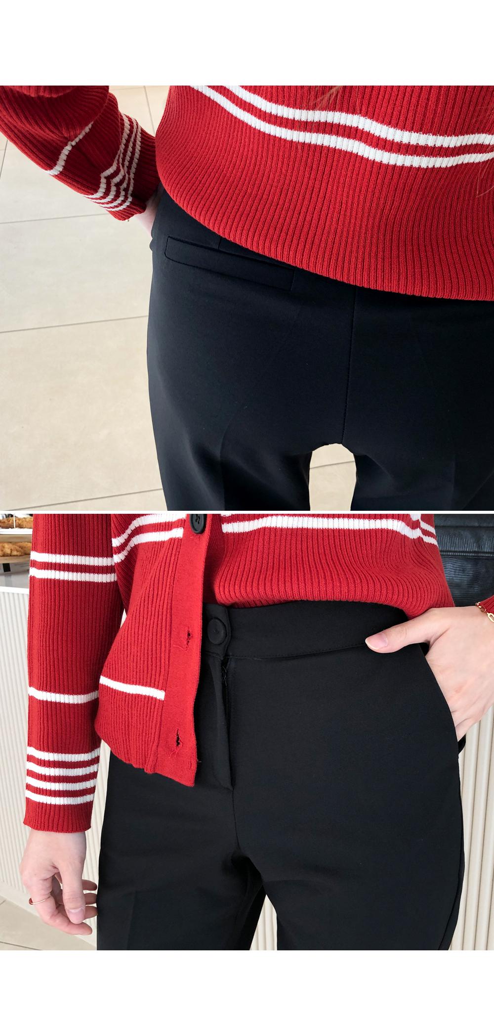 Slim Wide Fit Slacks
