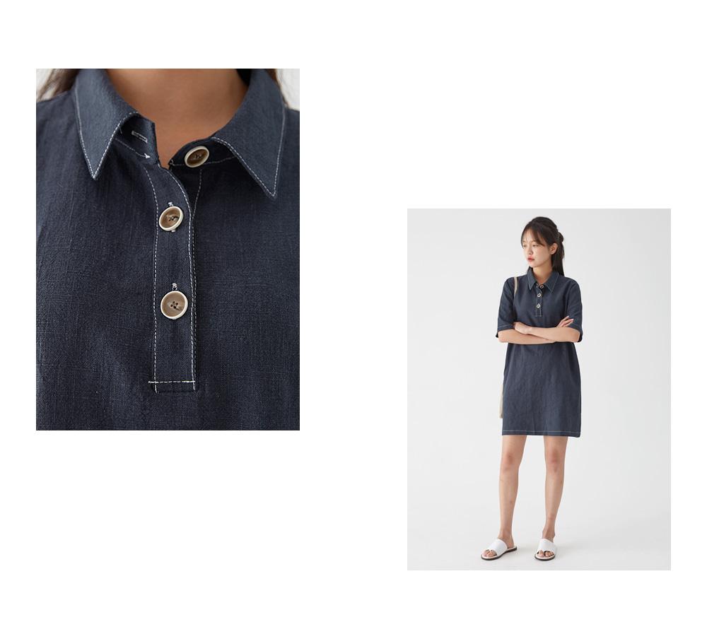mood linen collar mini ops