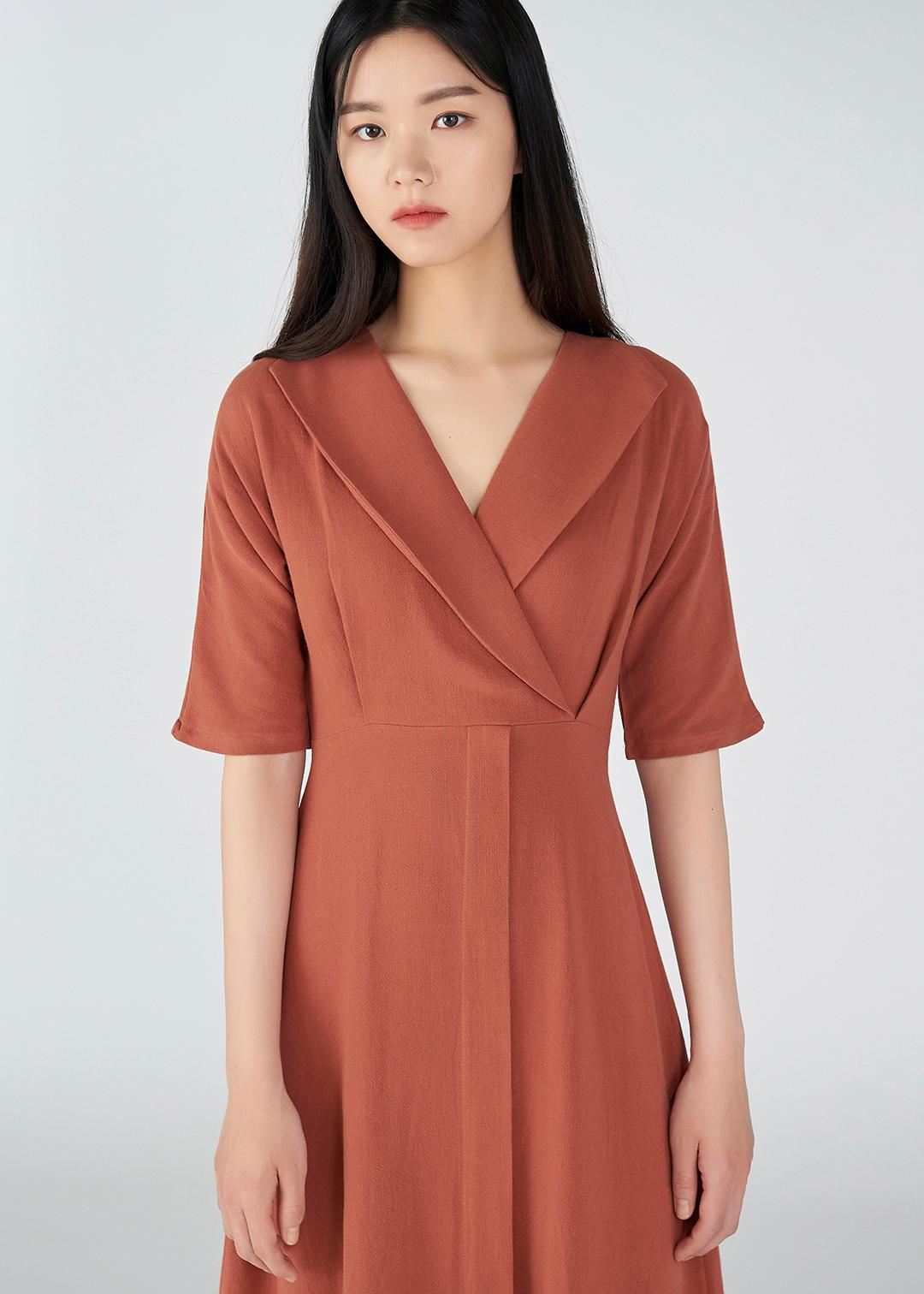 Adelle Mild Linen Dress