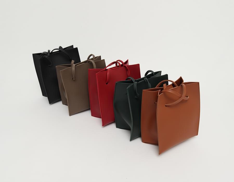 Spoil square shoulder bag_C
