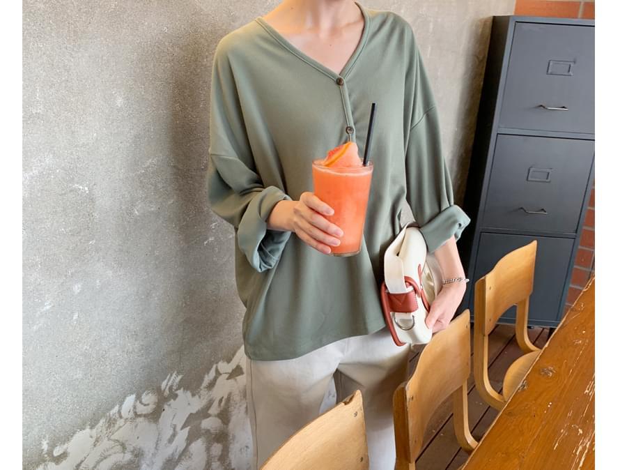 Belong loose-fit cardigan_C