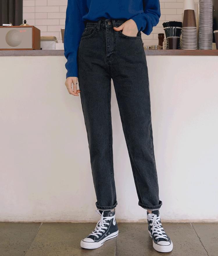 627 black denim pants
