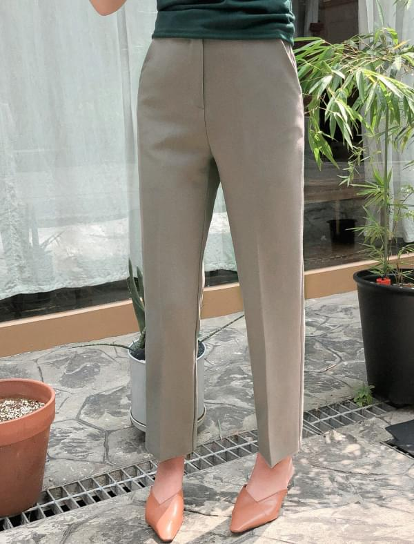 4 color standard slim slacks