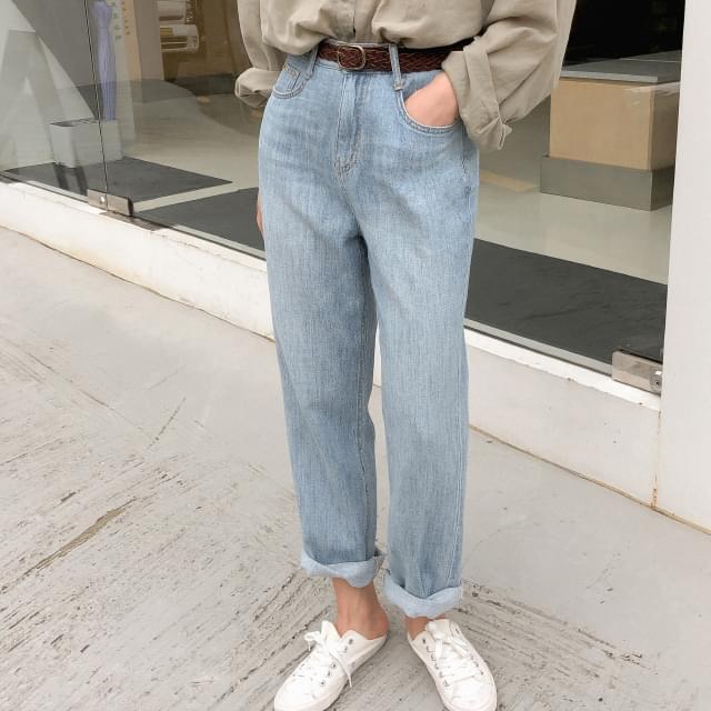 vintage washing denim pants vintage washing daily pants