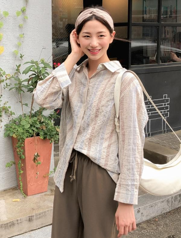 vintage mood stripe shirts