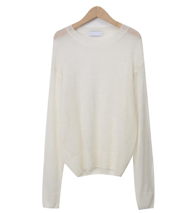 Gleam loose-fit knit_Y