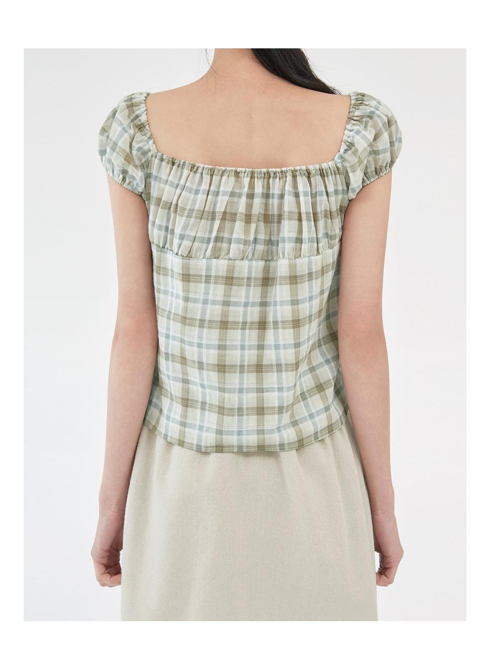 picnic day sleeveless blouse