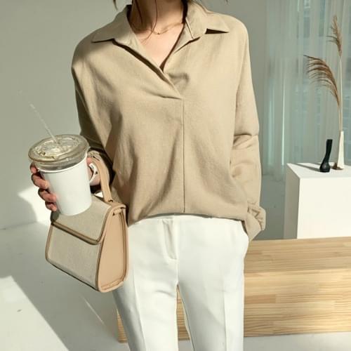 VERIMY COTTON SHIRT blouses