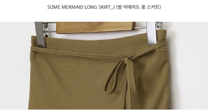 Some mermaid long skirt_J
