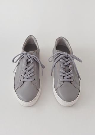 real leather casual sneakers