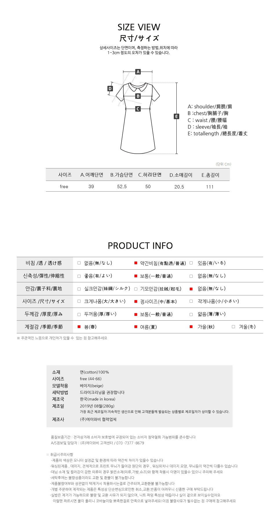 Cell Listing Dress