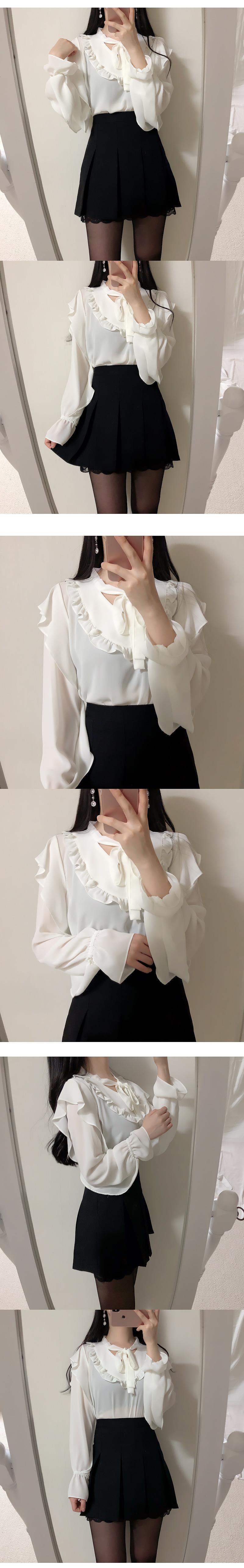 Self-made ♥ Anna chiffon blouse