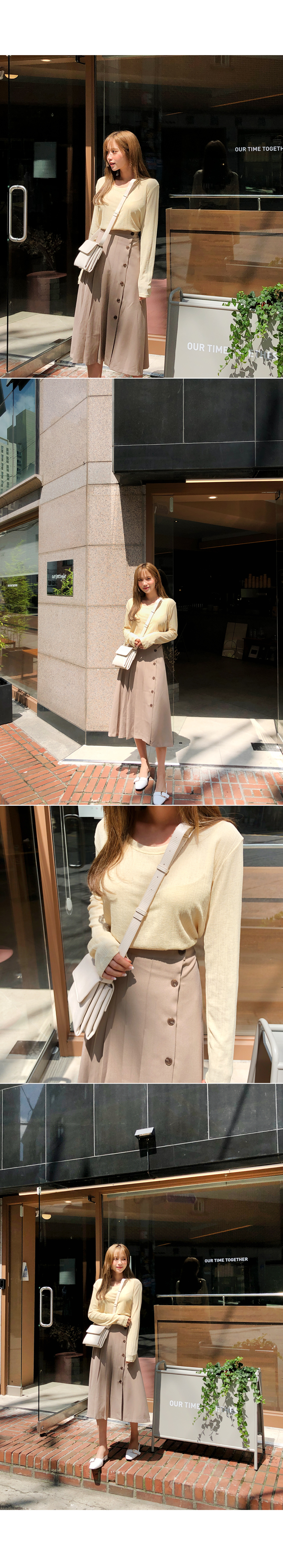Comfortable round knit