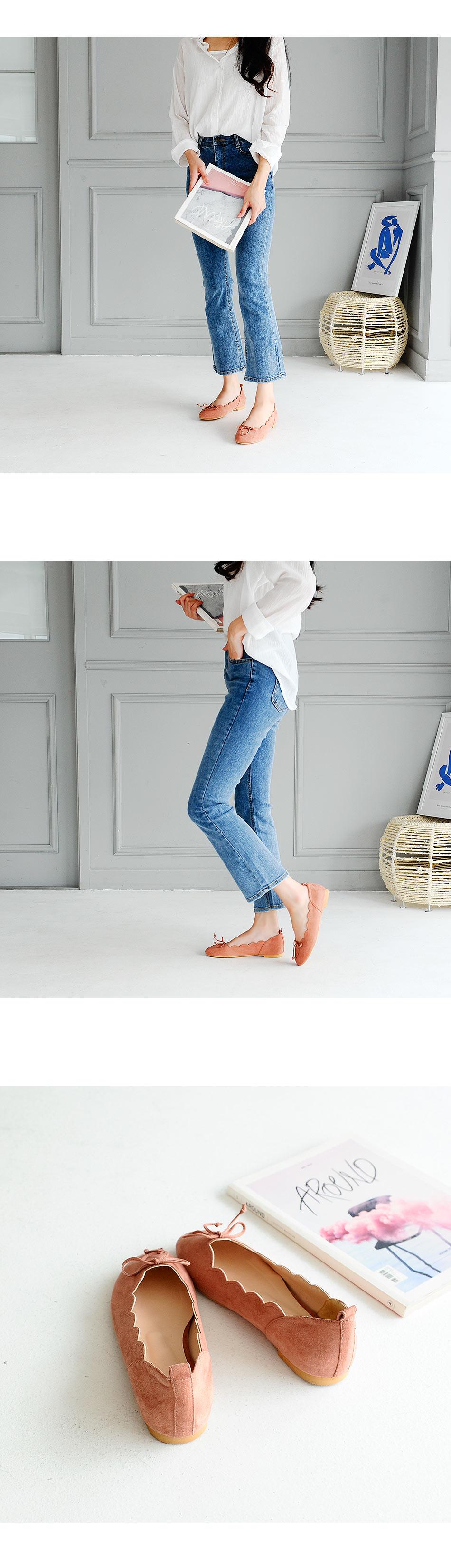 Biella Flat Shoes 1cm