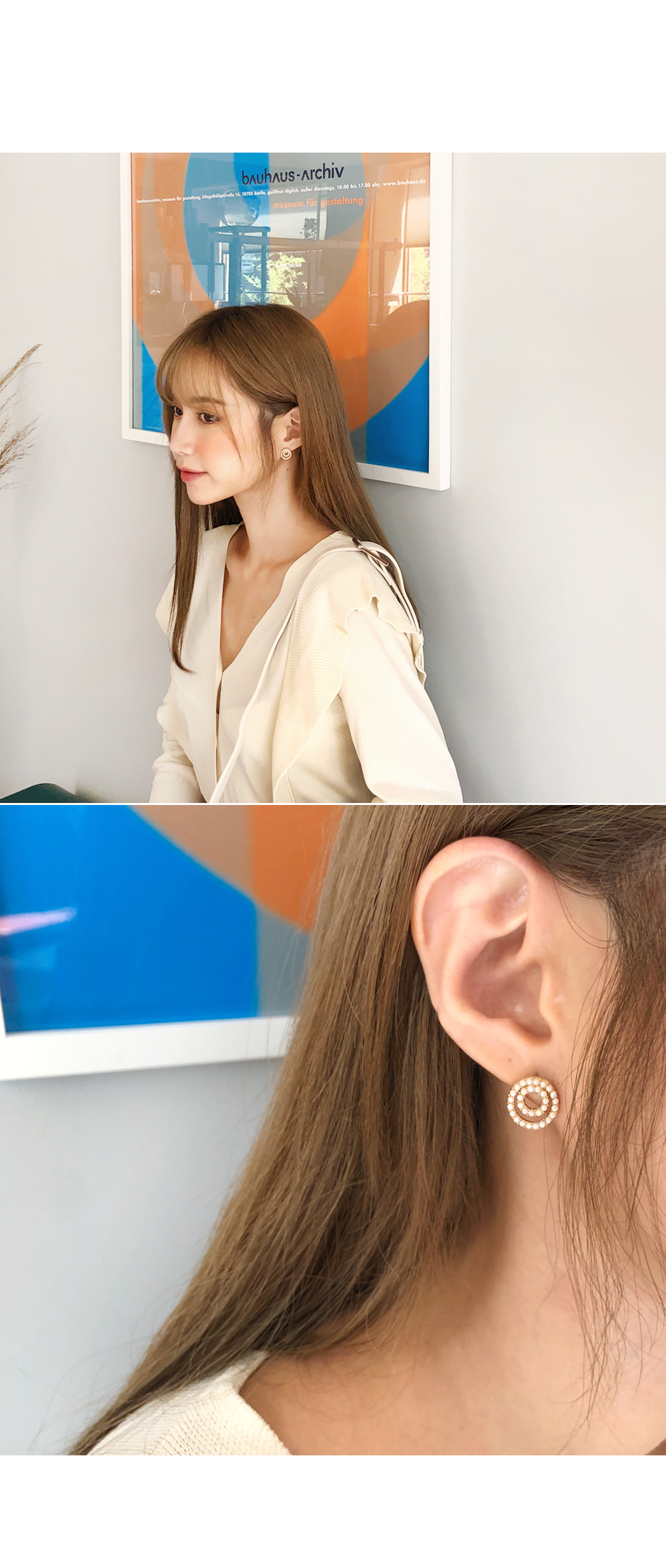 Exquisite high quality earrings