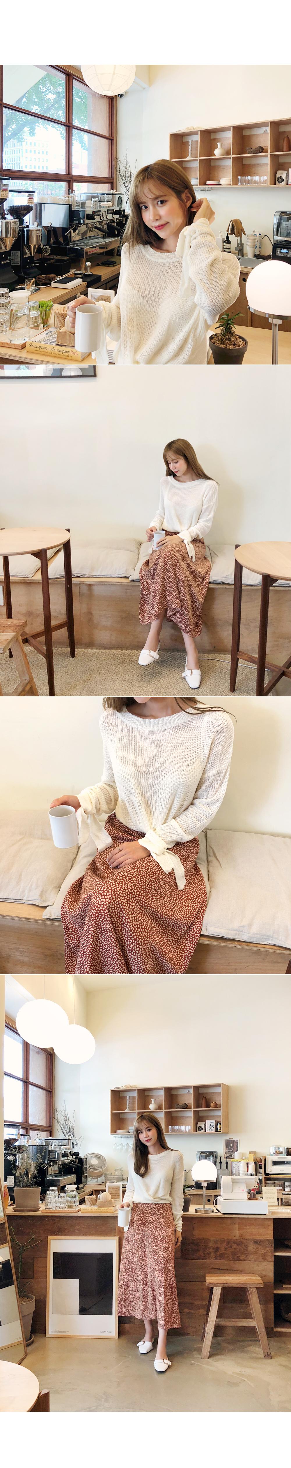 Pretty full day knit