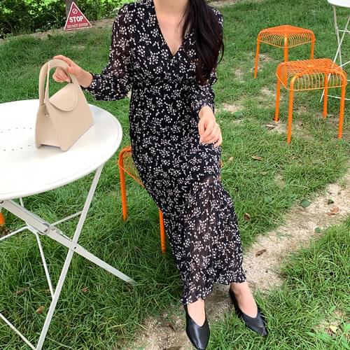 Rita Flower Long Dress