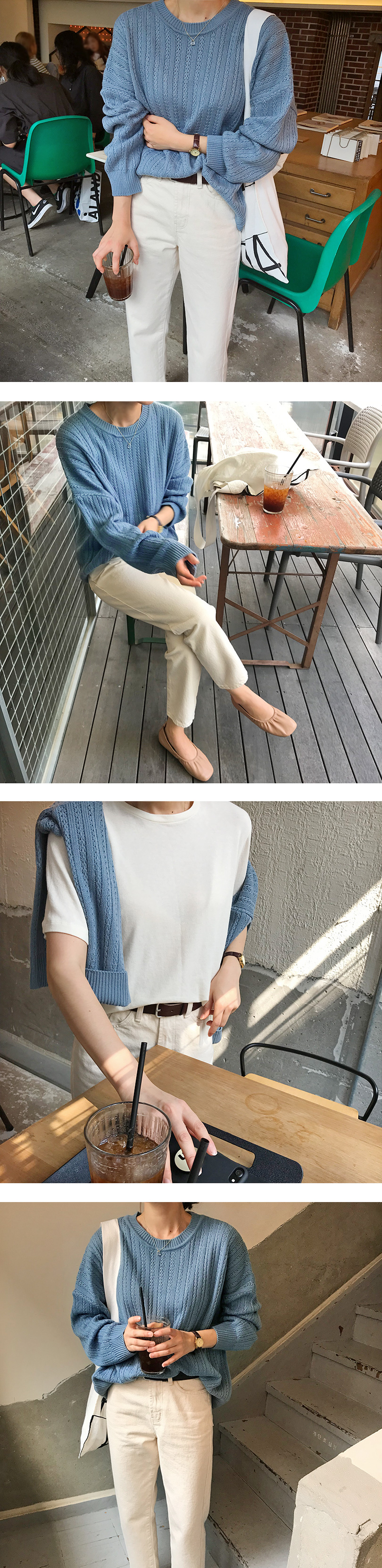 Dream loose-fit knit_Y