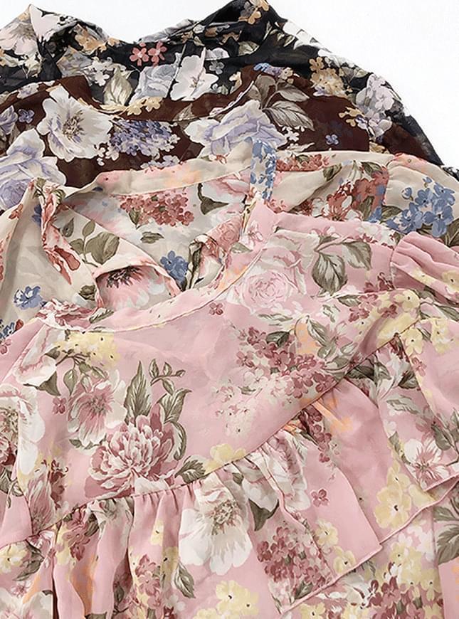 Lodge Flowerblouse 襯衫
