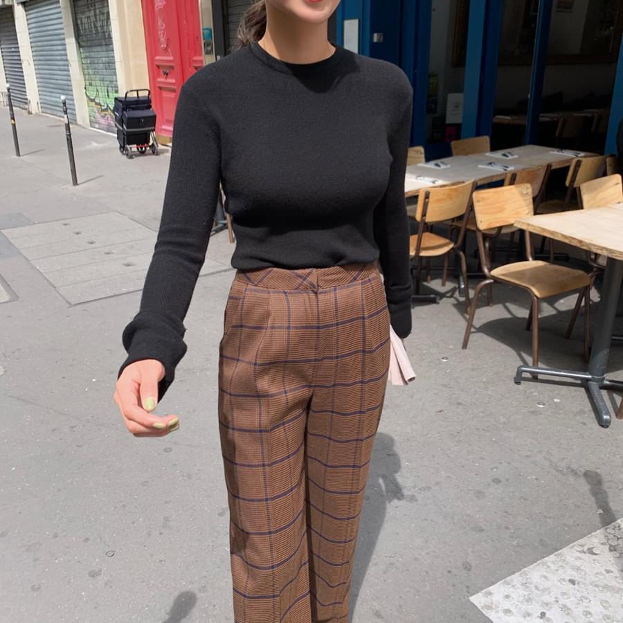Soft sleeve knit