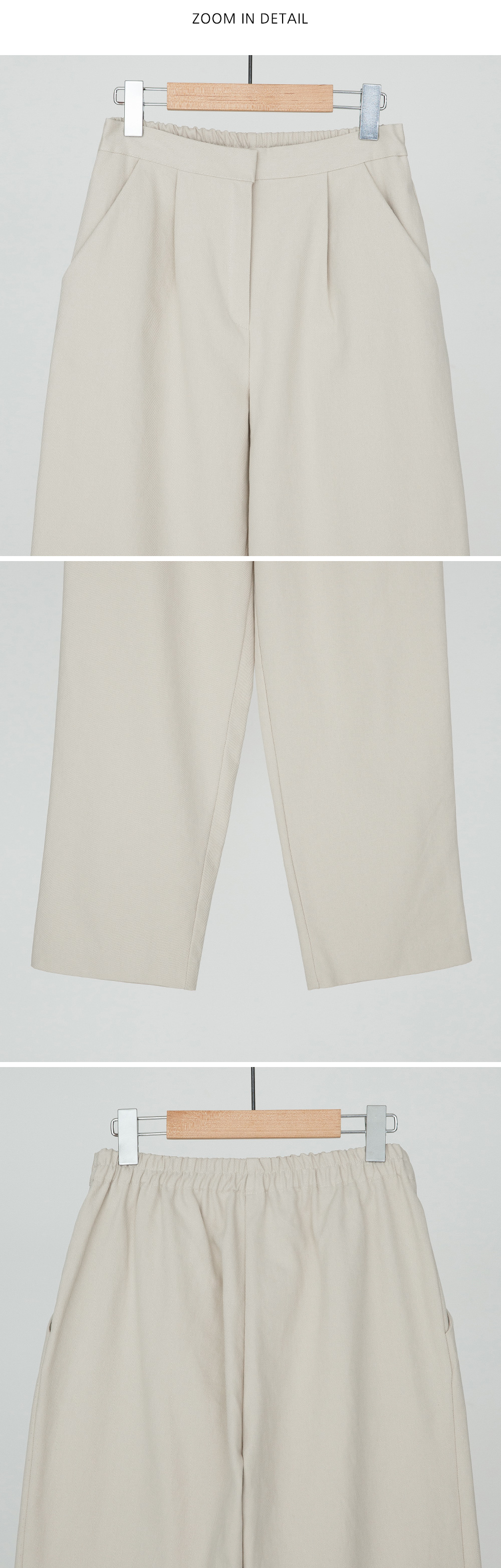 Waist Back Bending Semi Exhaust Pants-pt
