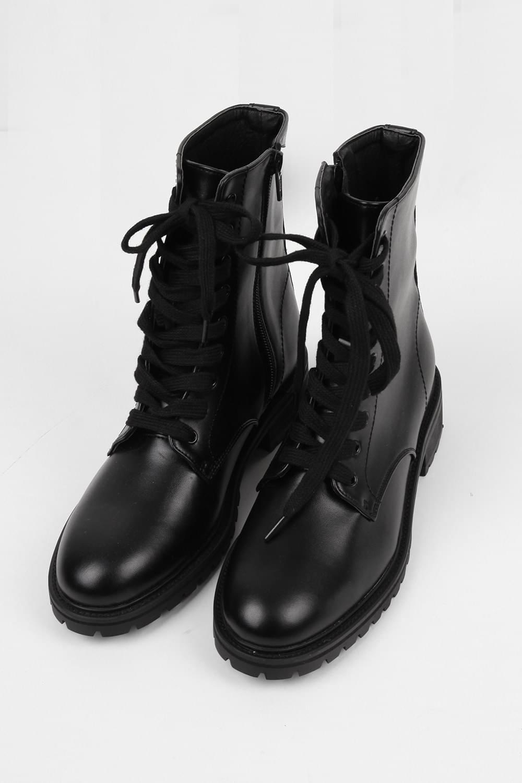 glossy sensual basic walker (black)